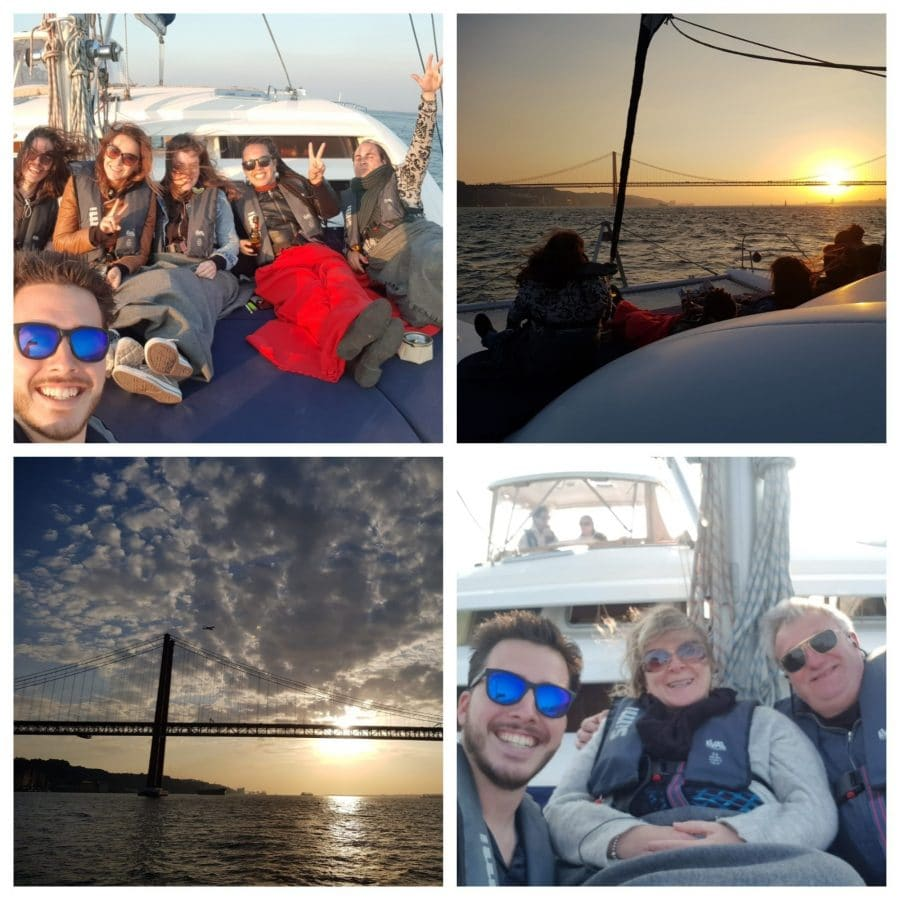 Yesterday's sunset boat tour